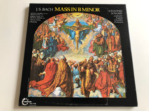 J.S. Bach - Mass In B Minor / Conducted: Johannes Somary / English Chamber Orchestra / VANGUARD 3X LP / VSD 711090