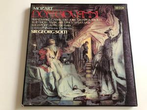 Mozart - Don Giovanni / London Philharmonic Orchestra / London Opera Chorus / Sir Georg Solti / DECCA 4X LP / 6.35475 GK