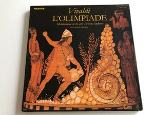 Vivaldi – L'Olimpiade / Melodramma In Tre Atti / Conducted: Ferenc Szekeres / HUNGAROTON 3X LP STEREO - MONO / SLPX 11901 - 03