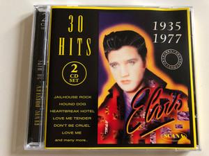Elvis Presley - 30 hits / 1935-1977 / Jailhouse Rock, Hound dog, Heartbreak Hotel, Love me Tender, Don't be Cruel, Love me and many more.. / 2 CD Set 1995 / Scana 95039 (7393068503921)