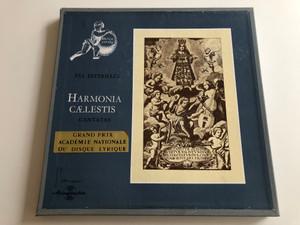 Pál Esterházy – Harmonia Calestis / Cantatas / Grand Prix Academie Nationale Du Disque Lyrique / HUNGAROTON 3X LP MONO / LPX 11433 - 35