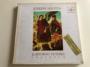 Joseph Haydn – Il Ritorno Di Tobia, Oratorio / Conducted – Ferenc Szekeres / HUNGAROTON 4X LP STEREO - MONO / SLPX 11660 - 63