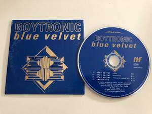 Boytronic - Blue Velvet / CD 0048125 FLU / Audio CD 1995 (782124481254)