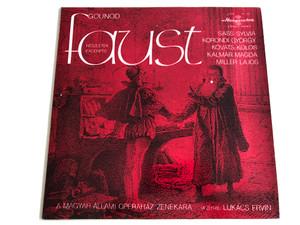 Gounod / Faust Részletek Excerpts / Conducted: Lukács Ervin / Sass Sylvia, Korondi György, Kováts Kolos, Kalmár Magda, Miller Lajos / A Magyar Állami Operaház Zenekara / HUNGAROTON LP STEREO - MONO / SLPX 11712