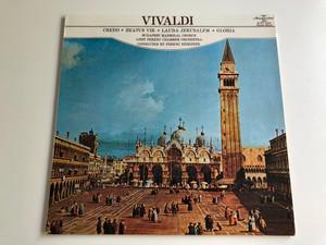Vivaldi - Credo, Beautus Vir, Lauda Jerusalem, Gloria / Conducted: Ferenc Szekeres / Budapest Madrigal Chorus / Liszt Ferenc Chamber Orchestra / HUNGAROTON LP STEREO - MONO / SLPX 11695