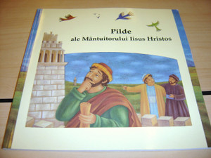 Romanian Children's Bible - Best-Loved Parables, Stories Jesus Told