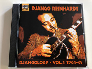 Django Reinhardt - Djangology Vol. 1 1934-35 / Naxos Jazz Legends / Audio CD 2000 (636943251522)