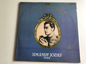 Simándy József - Magyar Eloadomuveszek / Hungarian Artist / HUNGAROTON 2X LP MONO / LPX 12862 - 63