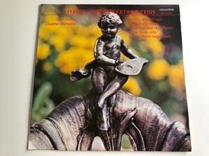 Vivaldi - Lute Concertos & Trios / Liszt Ferenc Chamber Orchestra / Daniel Benko, Janos Rolla, Laszlo Barsony / HUNGAROTON LP STEREO - MONO / SLPX 11978