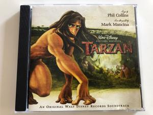 Tarzan - An Original Walt Disney Records Soundtrack / Phil Collins, Mark Mancina / Audio CD 1999 (4029758024720)