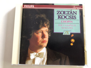Zoltán Kocsis - Chopin the Complete Waltzes / Philips Insignia 438 302-2 / Audio CD 1983 (028943830225)