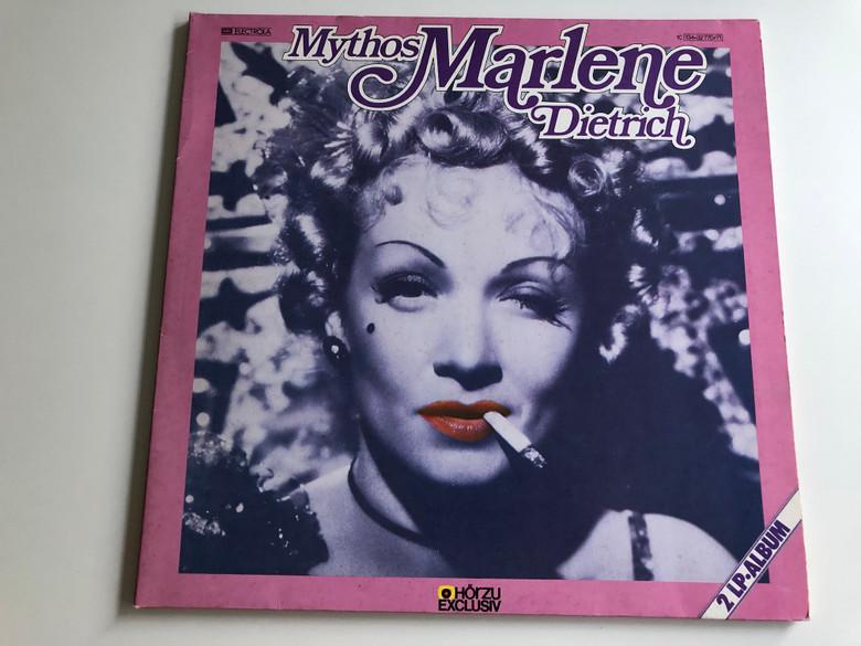 Mythos Marlene Dietrich / EMI Electrola 2X LP / 1C 134 - 32 770 / 71
