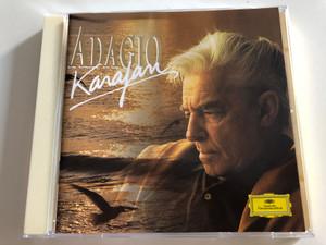 Karajan's Adagio / Berliner Philharmoniker / Herbert Von Karajan / Mahler, Pachelbel, Massenet, Brahms, Vivaldi, Grieg, Mozart, Sibelius / Audio CD 1989 / 445 232-2 (028944528220)
