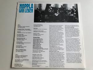 Gisela May – Hoppla Wir Leben / AMIGA LP STEREO / 8 55 371