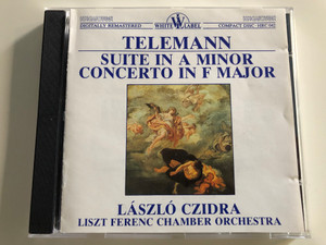 Telemann - Suite in A minor - Concerto in F Major / László Czidra recorder, József Vajda basson / Liszt Ferenc Chamber Orchestra / Conducted by János Rolla / Hungaroton White label / HRC 042 / Audio CD 1980 (HRC042)