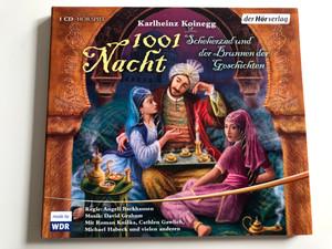 Karlheinz Koinegg - 1001 Nacht - Scheherzad und de Brunnen der Geschichten / Hörspiel - Radioplay / Audio CD 2008 / WDR / For Children age 8 (9783844513936)
