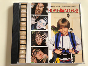 Home Alone 3 - Music From The Motion Picture / Featuring: Cartoon Boyfriend, Super Deluxe, Chuck Berry, Dean Martin, The Wailers / Audio CD 1997 / Hollywood Records 162 138-2 / PY 900 (720616213822)