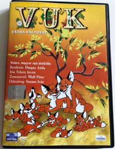 VUK - Extra Változat - Színes magyar rajz-játékfilm / Vuk the little fox / Directed by Dargay Attila / Written by Fekete István / Music: Wolf Péter / Lyrics Szenes Iván (5996357341222)