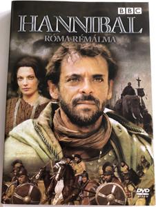 Hannibal DVD 2006 Hannibál - Róma rémálma / Directed by Edward Bazalgette / Starring: Alexander Siddig, Bashar Rahal / BBC (5996473002854)