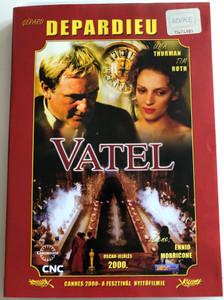 Vatel - 2000 / Directed by Roland Joffé / Starring: Gérard Depardieu, Uma Thurman, Tim Roth / Music by Ennio Morricone / PAL DVD 2000 (5998133139634)