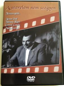 A szerelem nem szégyen DVD / Directed by Ráthonyi Ákos / Starring: Tolnay Klári, Jávor Pál, Mály Gerő, Gózon Gyula, Tamás József, Köpeczi-Boóz Lajos, Lázár Tihamér (5996051280087)