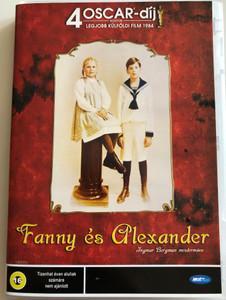 Fanny és Alexander DVD 1982 Fanny och Alexander - Ingmar Bergman's masterpiece / Directed by Ingmar Bergman / Starring: Pernilla Allwin, Bertil Guve, Jan Malmsjö, Börje Ahlstedt, Anna Bergman (5998133183330)