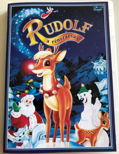 Rudolph The Red-Nose Reindeer - the movie DVD 1998 Rudolf a rénszarvas / Directed by Bill Kowalchuk / Starring: Eric Pospisil, Kathleen Barr, John Goodman (5998329507124)