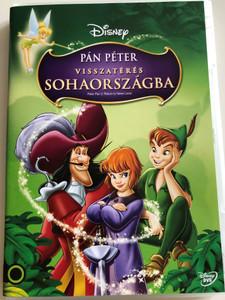 Peter Pan 2: Return to Neverland DVD 2002 Pán Péter Visszatérés Sohaországba / Disney / Directed by Robin Budd / Starring: Blayne Weaver, Harriet Owen, Corey Burton, Jeff Bennett (5996255738100)
