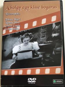 A hölgy egy kissé bogaras DVD 1938 / Directed by Ráthonyi Ákos / Starring: Tolnay Klári, Ráday Imre, Mály Gerő / B&W Hungarian Classic film (5996051280131)