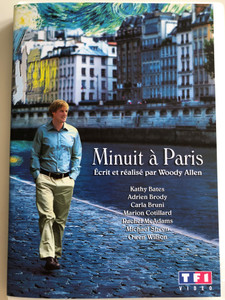 Midnight in Paris DVD 2011 Minuit à Paris / Directed by Woody Allen / Starring: Kathy Bates, Adrien Brody, Carla Bruni, Marion Cotillard, Rachel McAdams, Michael Sheen, Owen Wilson (3384442249430)