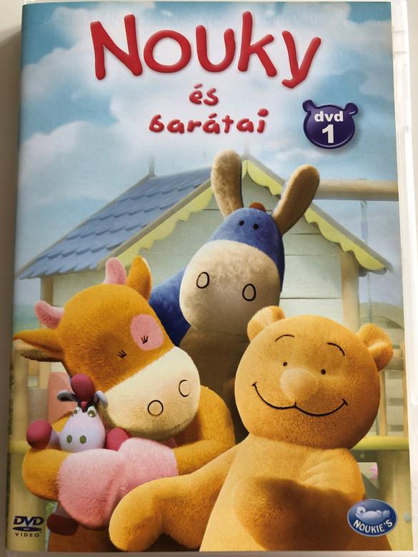 Nouky & Friends DVD 2006 Nouky és barátai DVD 1 / Directed by Stéphan Roelants, Eric Jacquot, Armelle Glorennec / Belgian cartoon series - 13 episodes (5996473001093)