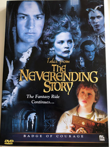 Tales from The Neverending Story DVD 2002 / The Fantasy Ride Continues.. / Directed by Adam Weismann / Starring: Mark Rendall, Tyler Hynes / Episode 9 & 13: Badge of Courage, Ressurection (8717662551406)