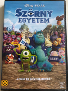 Monsters University DVD 2013 Szörny Egyetem / Directed by Dan Scanlon / Starring: Billy Crystal, John Goodman, Steve Buscemi, Kelsey Grammer, Jennifer Tilly (5996514015683)