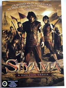 Siyama DVD 2008 Siyama - A harcosok Városa - Siyama: Village of Warriors ( สียามา) / Directed by Preecha Songsakul / Starring: Than Thanakorn, Thitima Maliwan, Nattanun Jantarawetch (5999552360227)