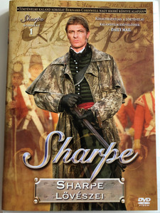 Sharpe Series 1. Sharpe's Rifles DVD 1993 Sharpe Sorozat 1. Sharpe lövészei / Directed by Tom Clegg / Starrin Sean Bean, Brian Cox, Daragh O'Malley, Assumpta Serna, David Troughton (5996473004384)