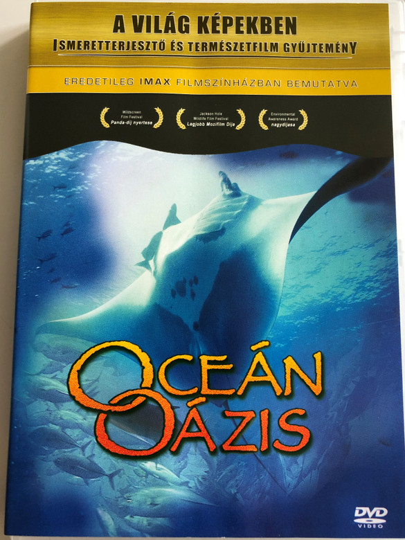 Ocean Oasis DVD 2001 Oceán Oázis / Directed by Soames Summerhays, Michael Hager, Don Steele / Documentary about ocean wildlife (5999543812230)