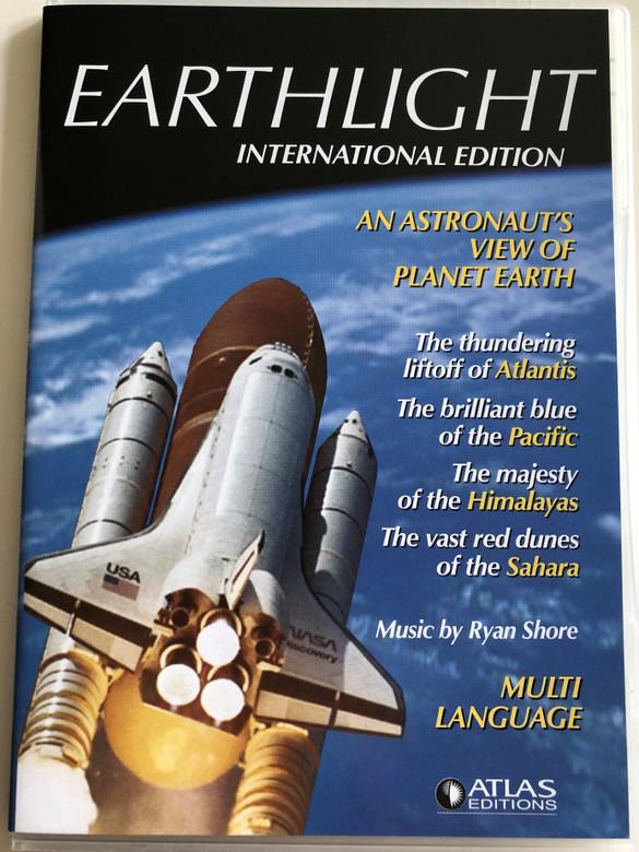 Earthlight Internation edition DVD 2007 An astronaut's view of planet Earth / 28 digital video Nasa Earthviews / Multi-language - Polish, hungarian, French, English, German, Russian, Romanian, Dutch, Czech, Swedish / Atlas editions (EarthlightDVD)