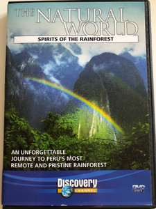 The Natural World - Spirits of the Rainforest DVD / An Unforgettable Journey to Peru's most Remote and pristine Rainforest / Directed by Ginger Kathrens / The story of the land, the legends and the legacies in remote and resplendent region of Peru / Discovery Channel (5023093054922)