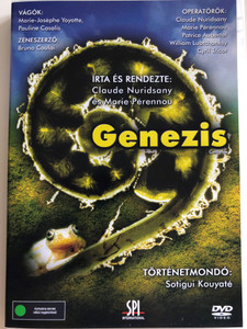 Genesis DVD 2004 Genezis / Written & Directed by Claude Nuridsany, Marie Pérennou / Music: Bruno Coulai / Documentary about the magnificence of Creation / Narrated by Sotigui Kouyaté (5999544151741)