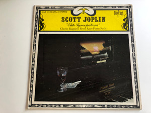 Scott Joplin ‎– Elite Syncopations / Classic Ragtime From Rare Piano Rolls Vol.5 / BIOGRAPH LP STEREO / BLP 1014Q