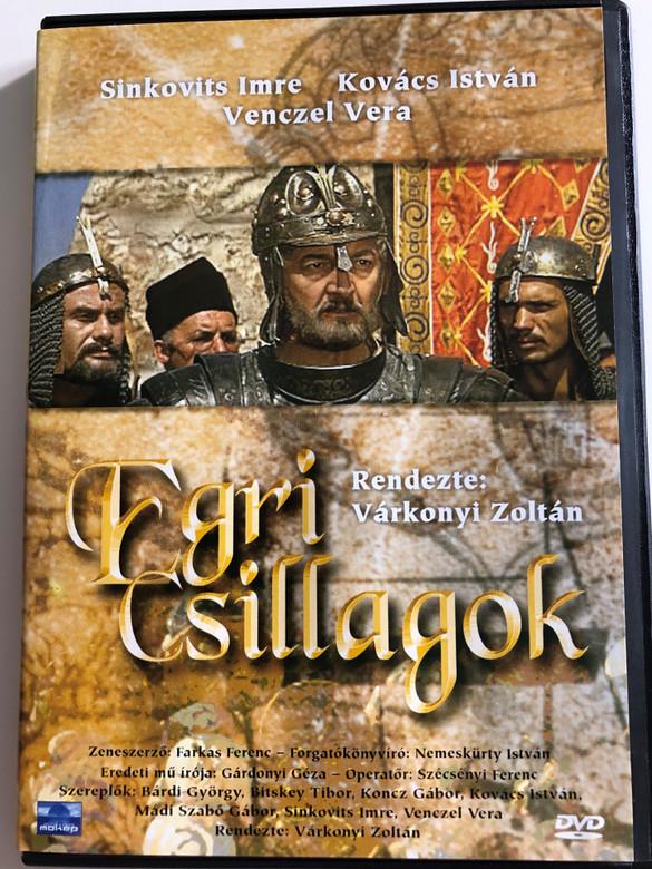 Egri csillagok DVD 1968 Eclipse of the crescent moon / Directed by Várkonyi Zoltán / Starring: Sinkovits Imre, Kovács István, Venczel Vera / Hungarian Classic film based on popular literary work (5996357313366)