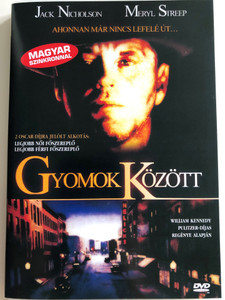 Ironweed DVD 1987 Gyomok Között / Directed by Hector Babenco / Starring: Jack Nicholson, Meryl Streep, Carroll Baker, Michael O'Keefe (5999881068825)
