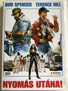 Go for it DVD 1983 Nyomás utána! ( Nati con la camicia) / Directed by Enzo Barboni / Starring: Bud Spencer, Terence Hill, Buffy Dee (5999544560109)