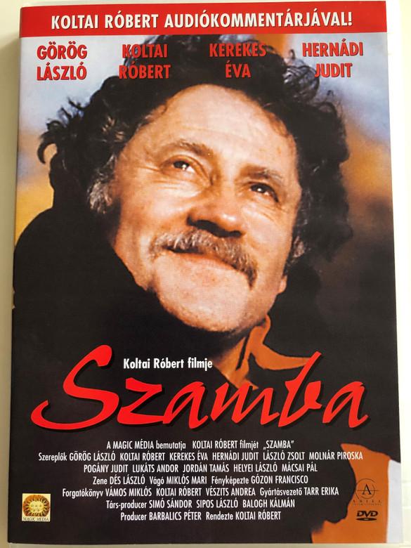 Szamba DVD 1996 / Directed by Koltai Róbert / Starring: László Görög, Róbert Koltai / Hungarian Comedy Film (5999542181016)