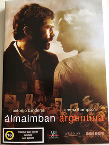 Imagining Argentina DVD 2003 Álmaimban Argentína / Directed by Christopher Hampton / Starring: Antonio Banderas, Emma Thompson, Leticia Dolera, Maria Canals, Rubén Blades (5999544151277)