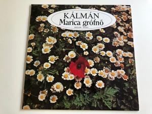 Kálmán – Marica Grófnő / Részletek Excepts / Conducted: Gyulai Gaál Ferenc / Qualiton LP STEREO / SLPX 6551
