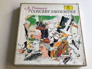 A Treasury Of Concert Favourites - Various / Deutsche Grammophon 10X LP STEREO ‎/ DJ 004 421 B