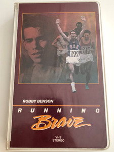 Robby Benson - Running Brave VHS 1983 / Directed by D. S. Everett / Starring: Robby Benson, Pat Hingle, Claudia Cron, Jeff McCracken / NTSC Color / The story of Billy Mills World-Class distance runner (183VS)