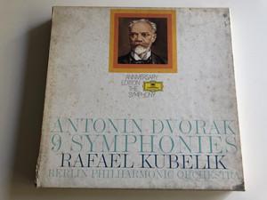 Antonin Dvořák - 9 Symphonies / Rafael Kubelik / Berliner Philharmonic Orchestra / Deutsche Grammophon 9X LP / 2720 066