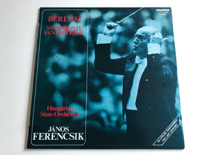 Berlioz ‎– Symphonie Fantastique / Hungarian State Orchestra / Conducted: János Ferencsik / HUNGAROTON LP STEREO / SLPX 12713
